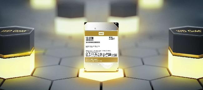 هارد طلایی وسترن دیجیتال