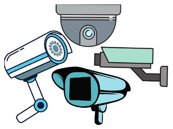 دوربین مداربسته براساس کاربرد : دام ، بولت ، باکس
