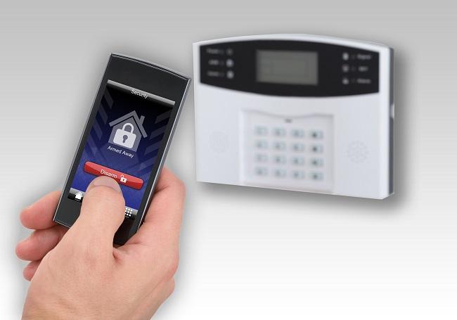 کنترل با موبایل دزدگیر اماکن گپ